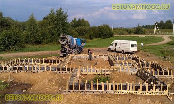 Цена заливки бетона из миксера в москве про цементный раствор